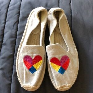 New never worn Soludos Espadrilles. Size 8